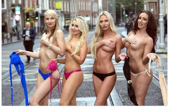 Фото женщин топлес